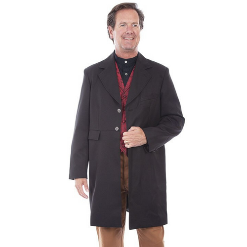Men's Traditional Old West Style Duster By Scully RW200