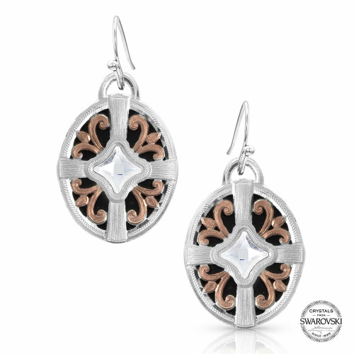 Enduring Beauty Earrings by Montana Silversmiths ER4052RG