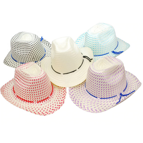 Toddler's Straw Cowboy Hats
