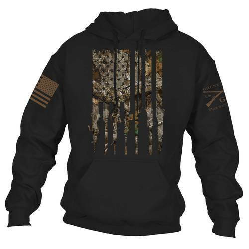 Realtree Edge® - Rifle Flag Hoodie by Grunt Style GS3652