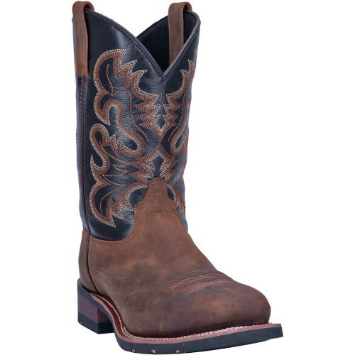 Laredo Men's Rockwell Leather Work Cowboy Boot 69438