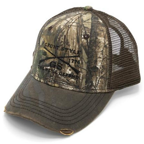 Realtree Xtra®Embroidered Logo Flag Hat by Grunt Style GS3407