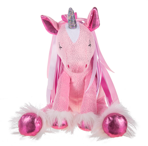 Stuffed Lovie Ribbon Unicorn HV9471