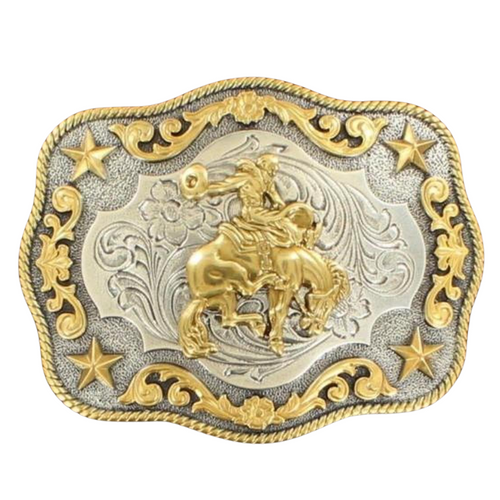 Saddle Bronc Belt Buckle by M&F Western 3798708