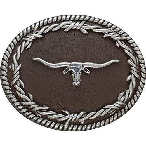 Longhorn Belt Buckle 3702613
