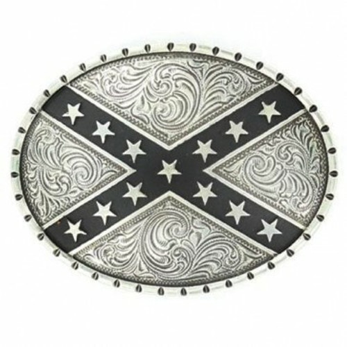 Rebel Flag Belt Buckle by M&F Western 37922