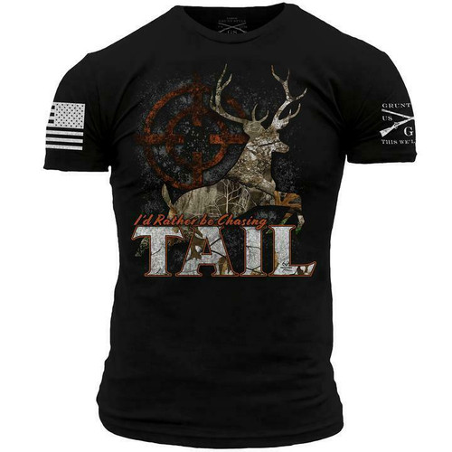 Chasing Tail T-Shirt By Grunt  Style GS2937