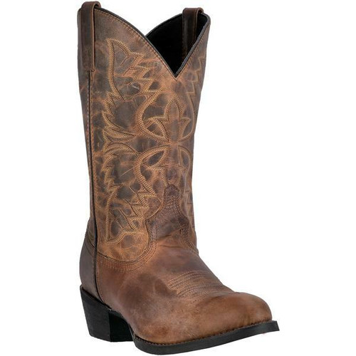 Men's Birchwood Tan Cowboy Boot by Laredo 68452