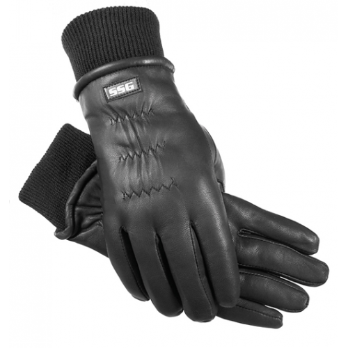 Black Winter Training Gloves by SSG Gloves 6000