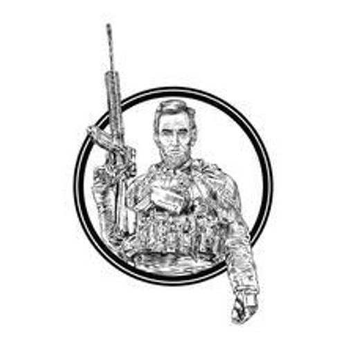 Tactical Abe Sticker Decal by Grunt Style GS3150
