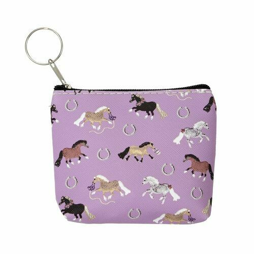Puff Pony Key Chain Coin Purse Wallet by AWST GG623-P