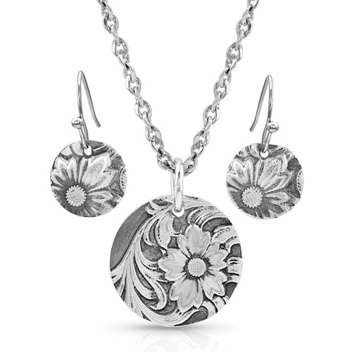 Art of the Buckle Jewelry Set by Montana Silversmiths JS4660