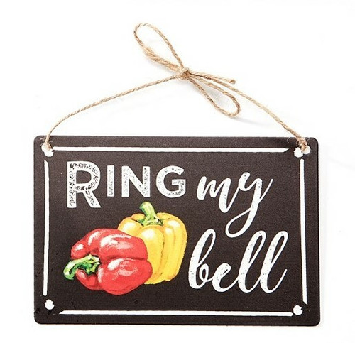 Decorative Ring My Bell Metal Sign 715404-3
