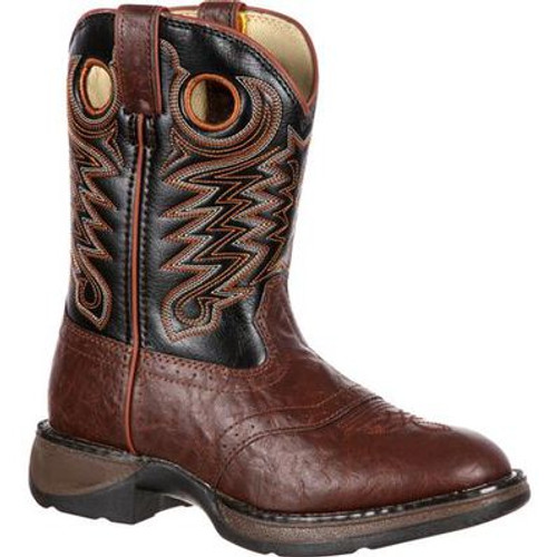 Lil' Kid Saddle Western Boot By Durango BT200