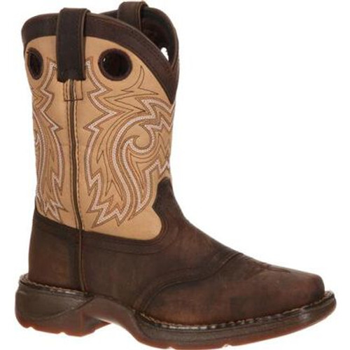 Lil' Durango Big Kid Saddle Western Boot DBT0118