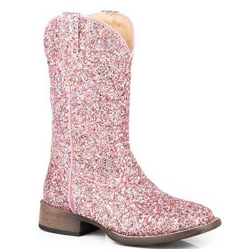 Glitter Galore Pink Cowboy Boot for Toddlers 09-017-1903-2814 PI
