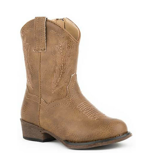 Taylor Brown Cowboy Boot for Toddlers 09-017-1939-2406 TA