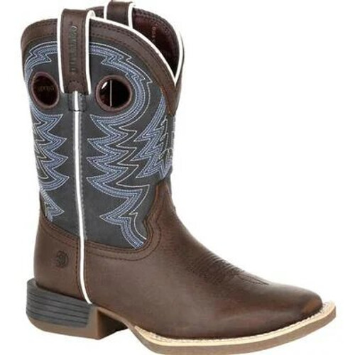 Durango Lil' Rebel Pro Big Kid's Blue Western Boot DBT0218Y