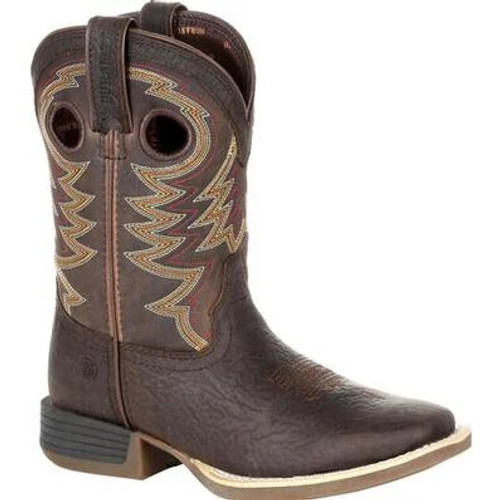 Durango Lil' Rebel Pro Little Kid's Brown Western Boot DBT0219C