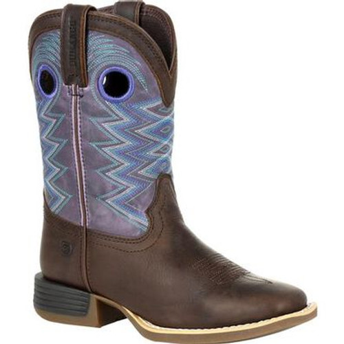 Durango Lil' Rebel Pro Big Kid's Amethyst Western Boot DBT0225Y