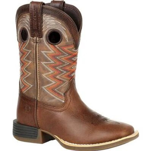 Durango Lil' Rebel Pro Big Kid's Tiger Eye Western Boot DBT0226Y