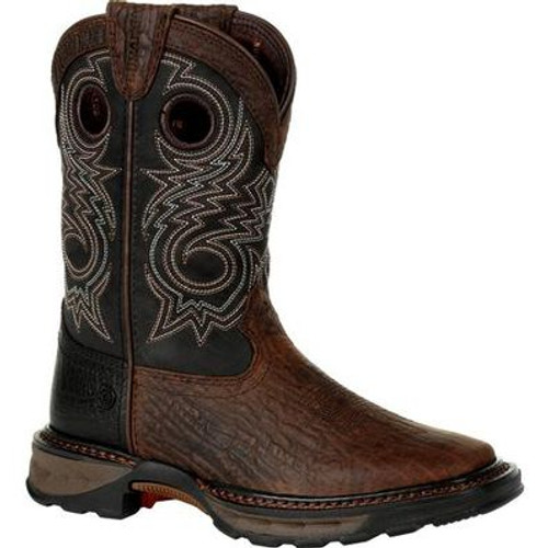 Durango Lil' Maverick XP Big Kid's Black Western Boot DBT0228Y