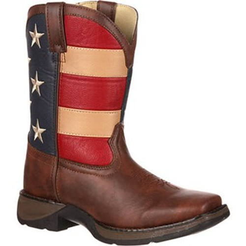 Lil' Durango Patriotic Kid's Western Boot BT245
