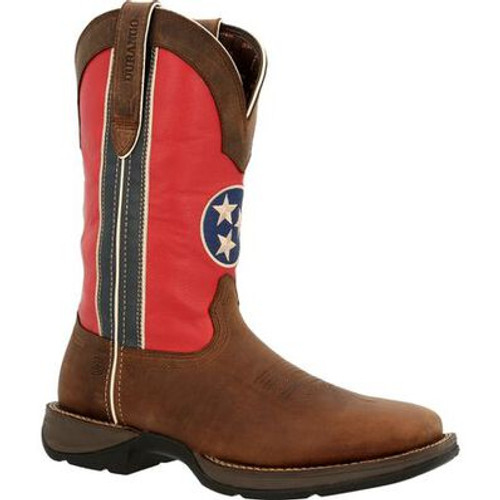 Rebel Tennessee Flag Western Boot By Durango DDB0345