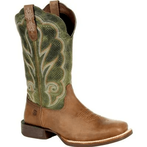 Durango Lady Rebel Pro Women's Olive Ventilated Western Boot DRD0378