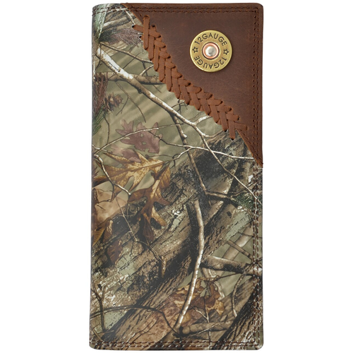 Badger 12 Gauge Shell Brown Realtree Camo Wallet DBW552