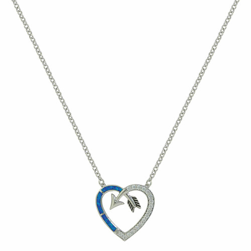 Heart Arrow Necklace by Montana Silversmiths NC3949