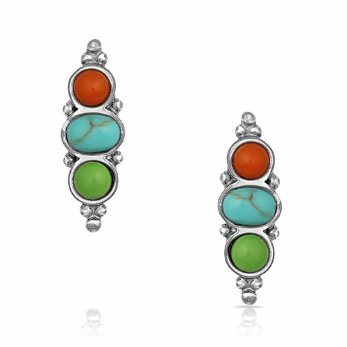 Color Me Trio Earrings By Montana Silversmiths ER4796