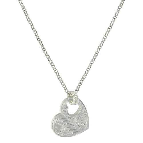 You Have My Heart Necklace By Montana Silversmiths NC3933
