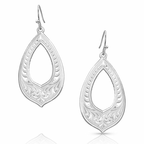 Silver Wonder Earrings By Montana Silversmiths ER4699
