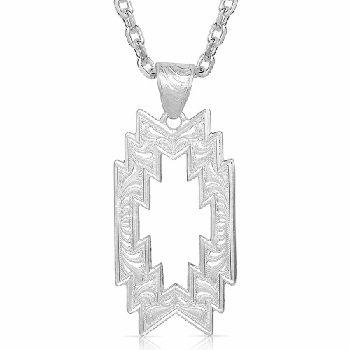Storm Geometric Necklace by Montana Silversmiths NC4700