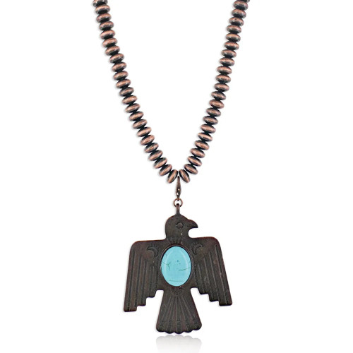 Thunderbird Attitude Necklace By Montana Silversmiths ANC4850