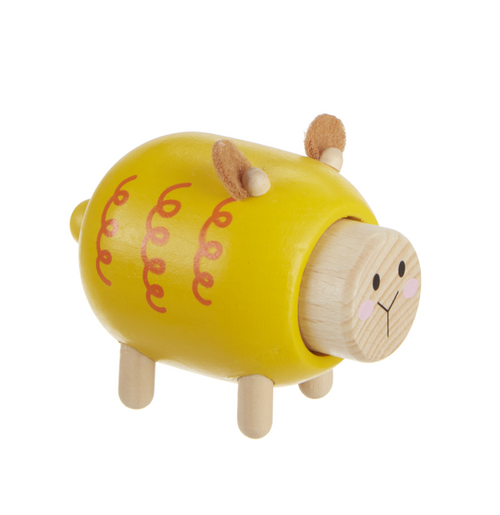 Wooden Sheep Farm Toy with Sound by Ganz BG-4295S