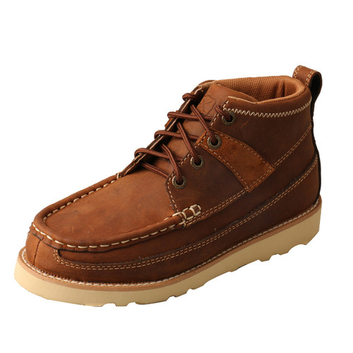 Twisted X Wedge Sole Boot - Oiled Saddle YCA0001