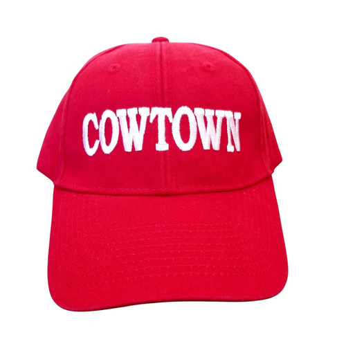 Official Red Cowtown Baseball Cap