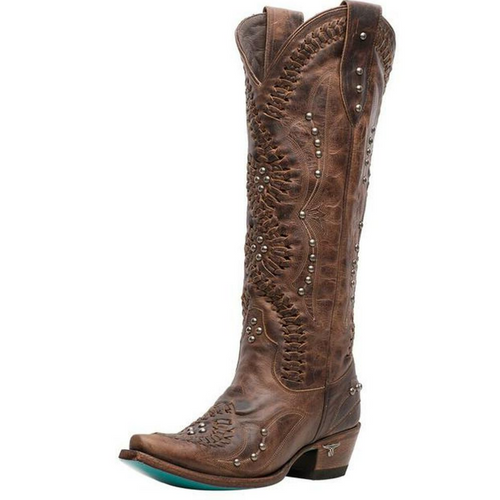 Women's Cossette Cognac Boot by Lane LB0469A