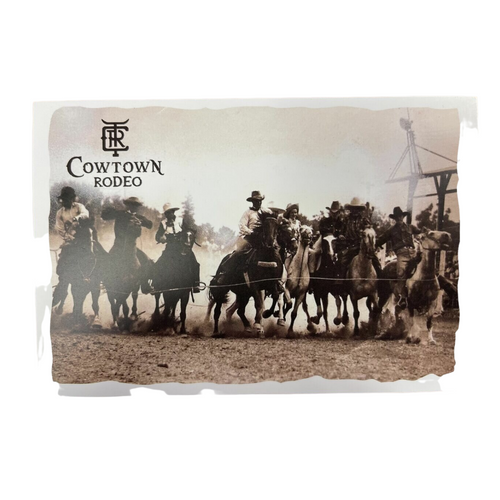 2021 Cowtown Rodeo Postcard