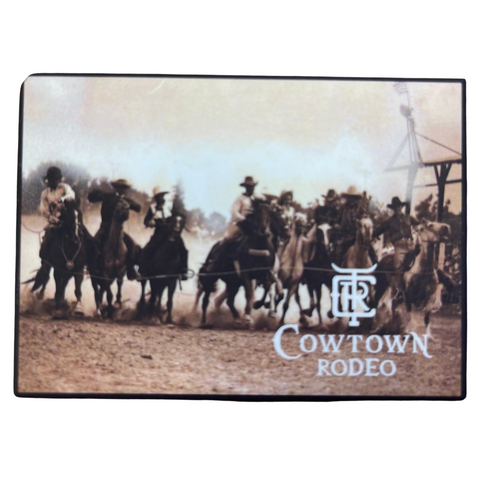 2021 Cowtown Rodeo Refrigerator Magnet