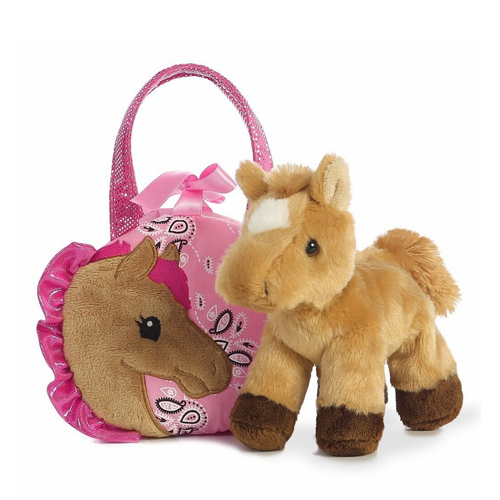 "Fancy Pals 5.5"" Pretty Pony With Carrier 32766"