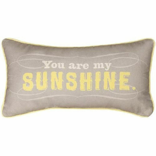 """You Are My Sunshine"" Plush Pillow by MWW SHYAMS"