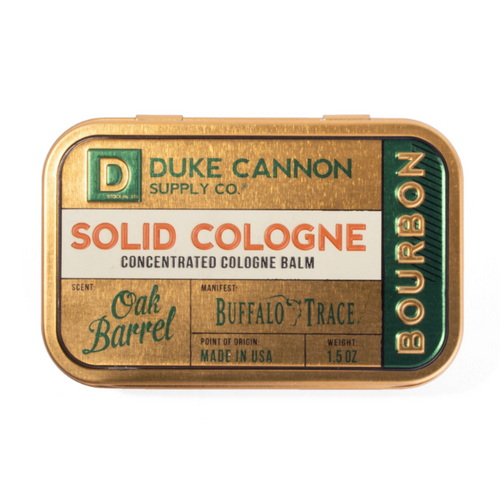 Bourbon Solid Cologne SCBOURBON1 By Duke Cannon Supply