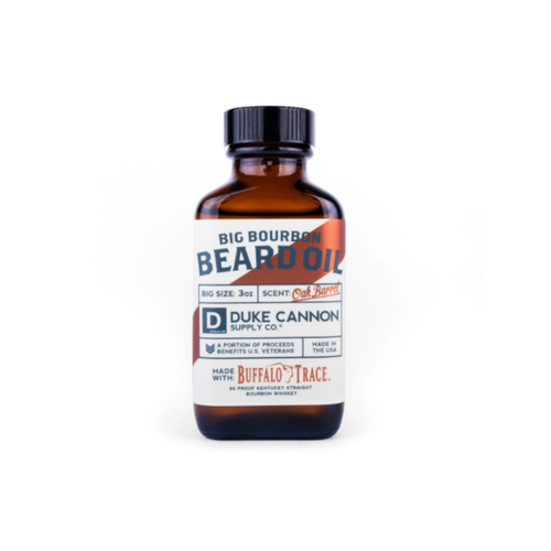Big Bourbon Beard Oil 03BDOIL1 By Duke Cannon Supply