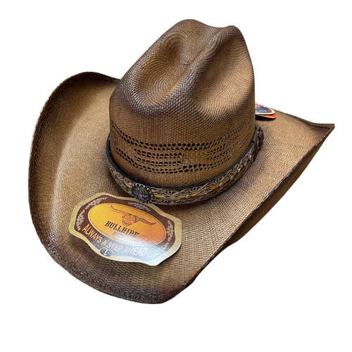 Corral Dust Pecan Straw Hat By Montecarlo Hats 2879