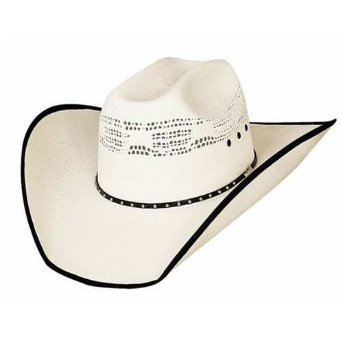 """Justin Moore """"Beer Time"""" 20x Straw Hat By Montecarlo Hats 2696"""