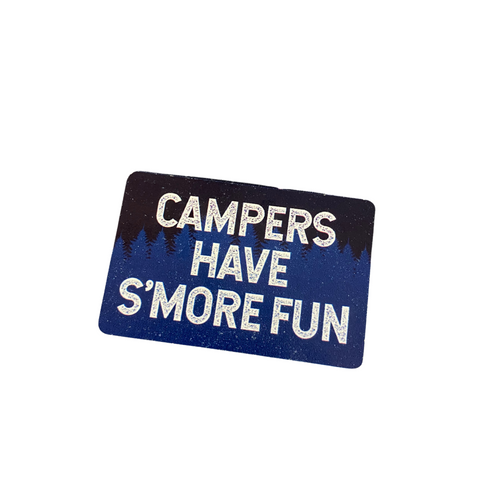 """Campers Have S'More Fun"" Magnet 79191-1"