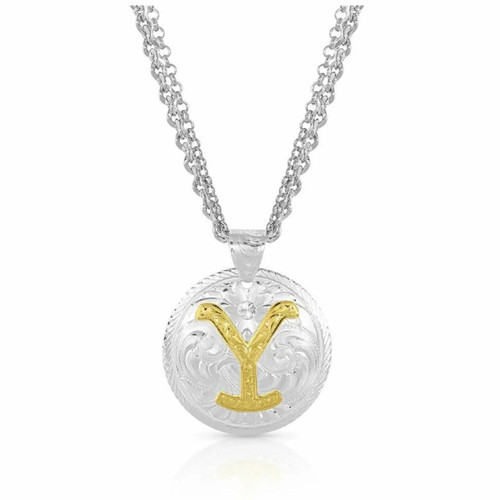 The Dutton Y Yellowstone Necklace YELNC4351